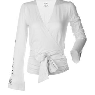 Yoga Shirt_Cristina_White_NMRK_Front