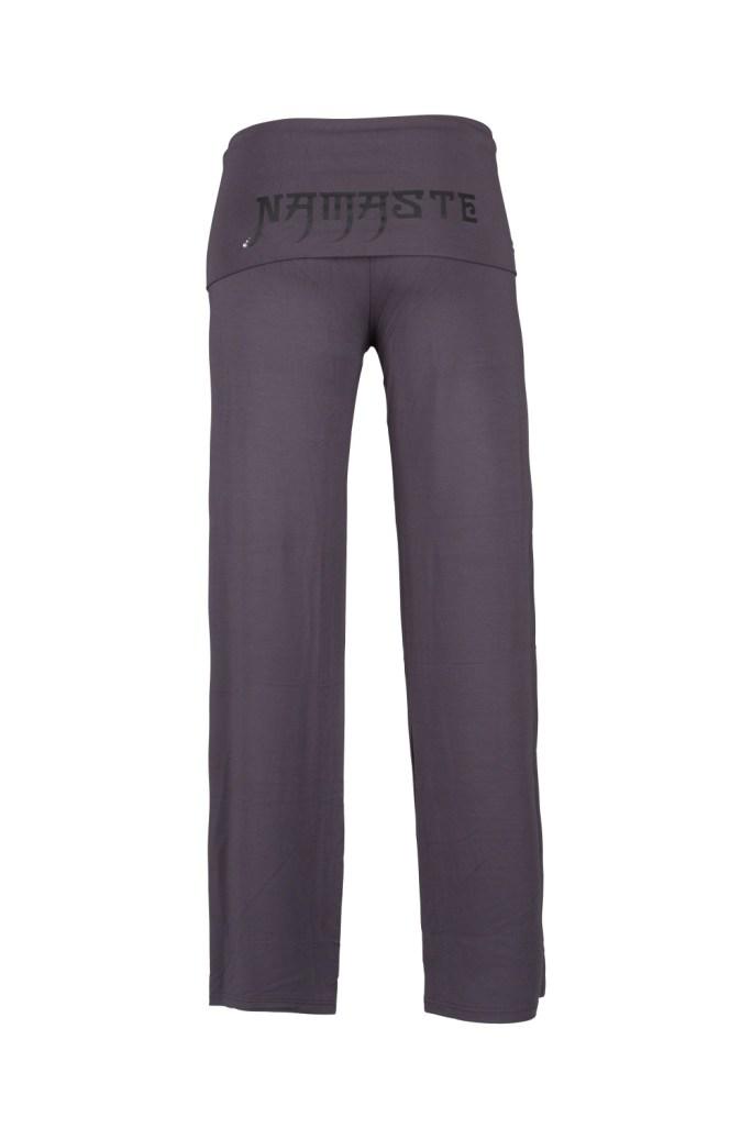 Yoga Pants_Laura_Grey_Namaste_Back