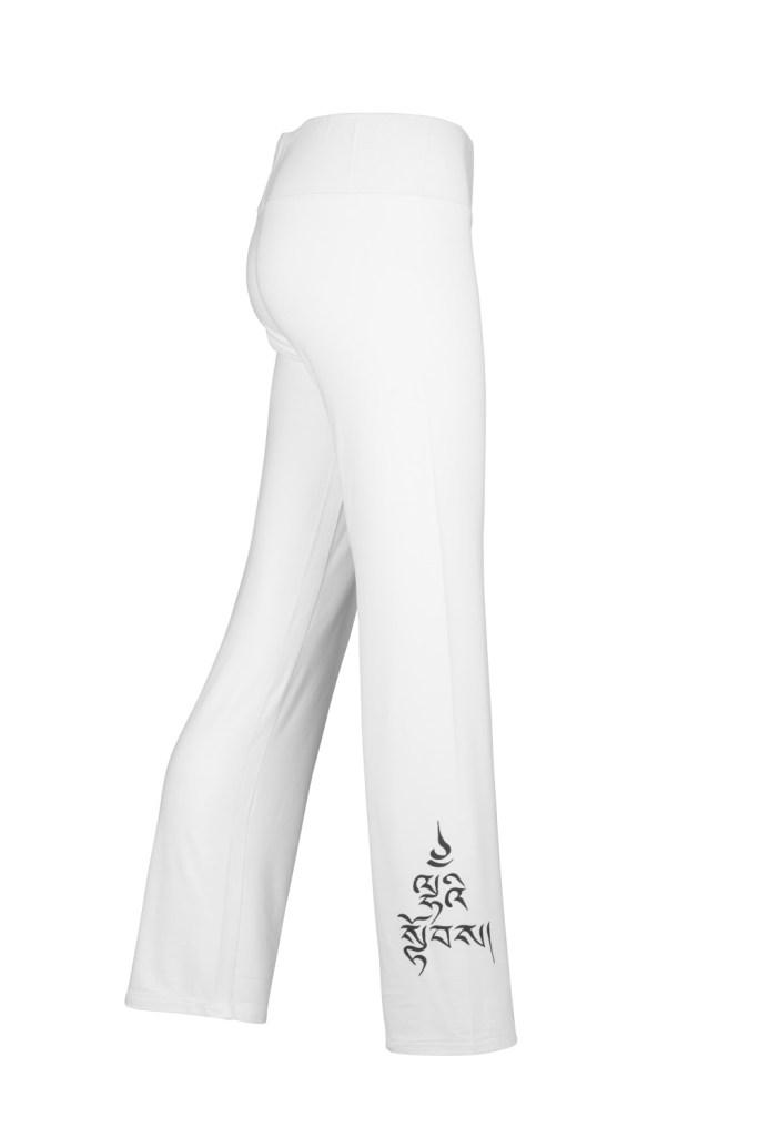 Yoga Pants_Laetitia_White_Divine Power_Side