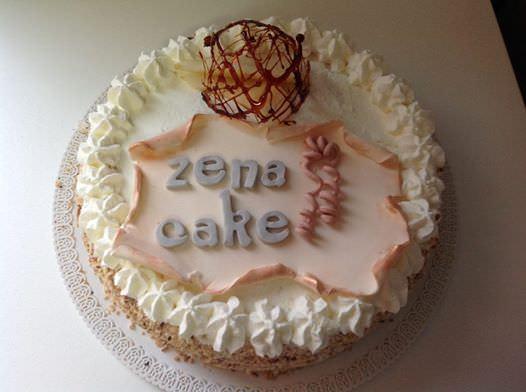 La torta dolce genovese, la Zena Cake
