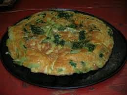 La torta di riso con bietole è tipica del Ponente ligure
