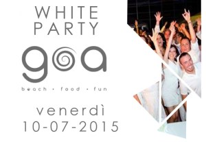 Locandina White Party