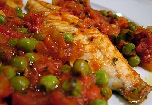 Sgombri e piselli: una ricetta ideale, e veloce, per questa sera