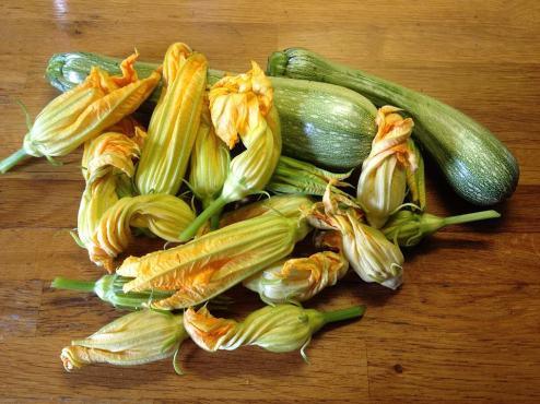 zucchine al verde