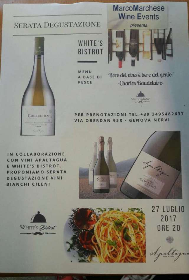Marco Marchese wine events