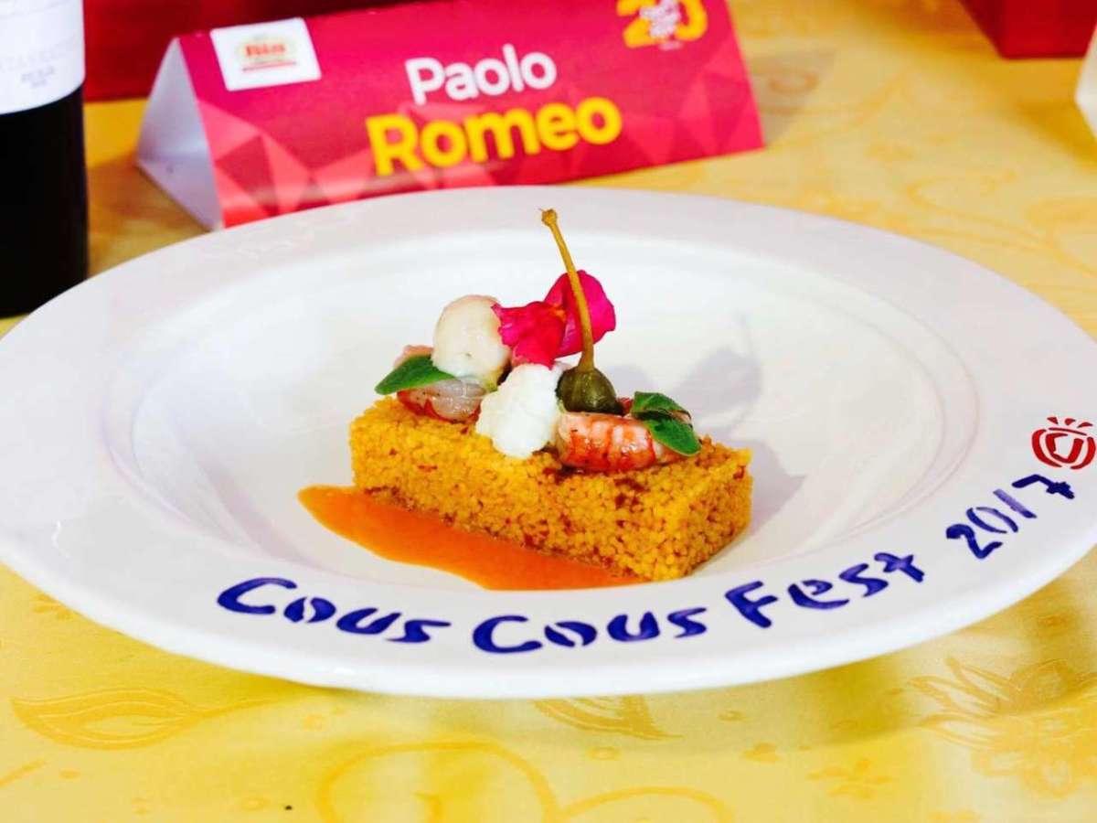 """Paolo Romeo: siciliano""""genovese"""" campione di cous cous"""