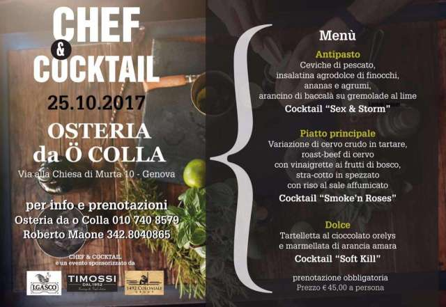 Chef & Cocktail