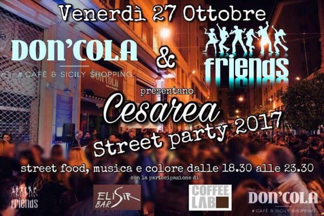 Street food party di Via Cesarea