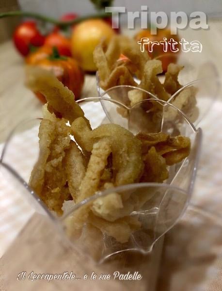 Trippa fritta: vista da Fernanda Demuru e il suo Leccapentole