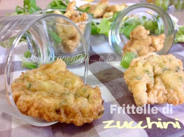 frittelle di zucchini