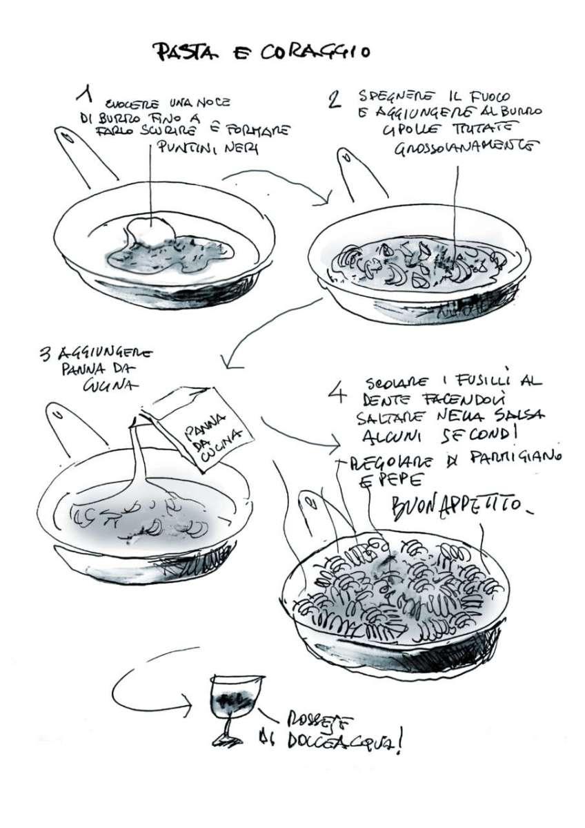Pasta e coraggio: cucina l'archichef Luca Mazzari