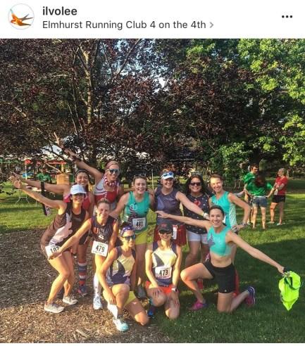 Elmhurst Running Club 4 on the 4th 3