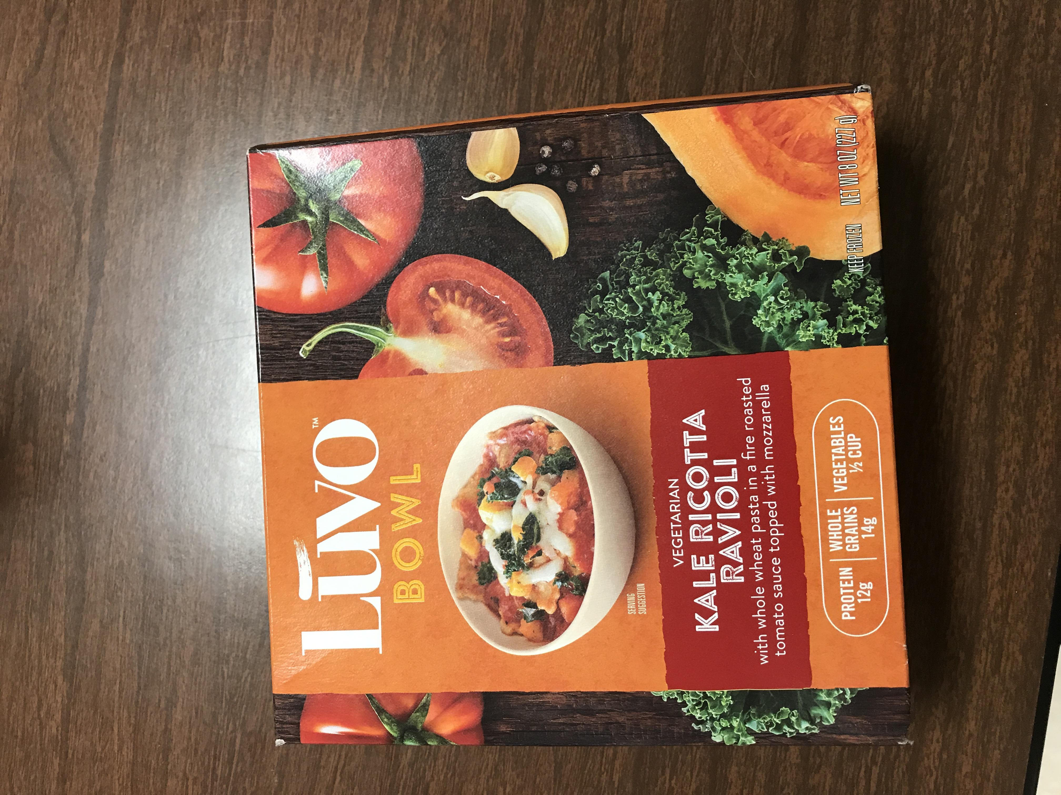 Luvo Frozen Meals 2