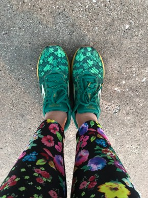 Brooks Launch 5 Shamrock Shoes-1