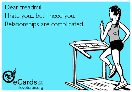 Dear Treadmill