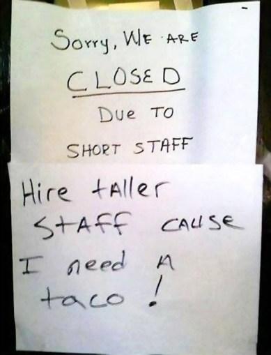 I need a taco-1