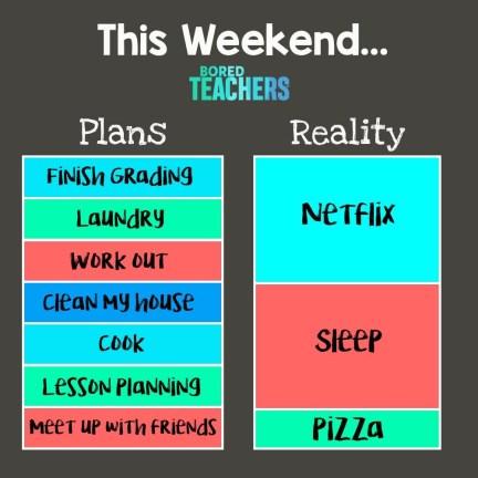 This weekend