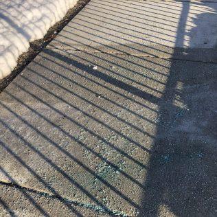 Ice on sidewalk-2