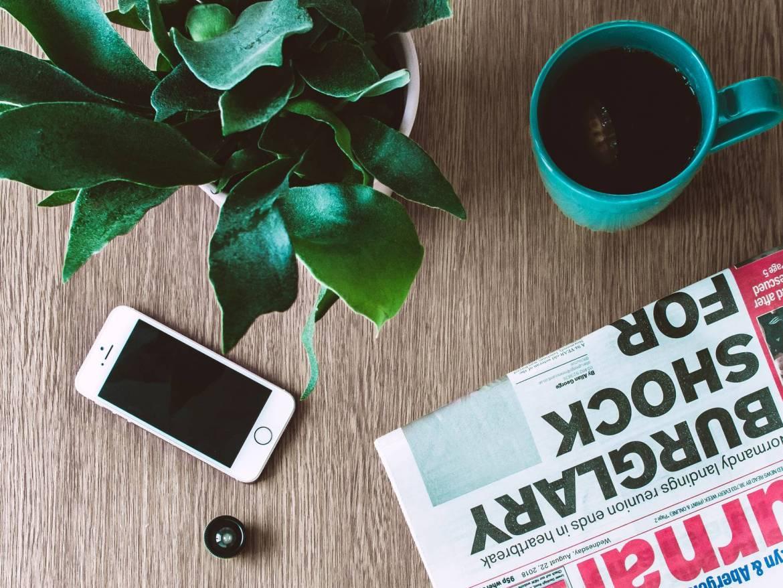 magazine, news, coffee