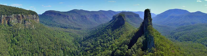 The Lost Crags of South East Queensland