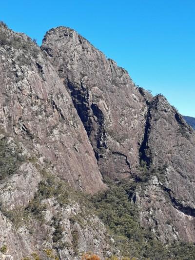 Barney Couloir Leaning Peak