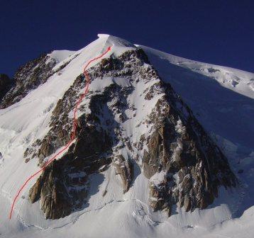Mont Blanc du Tacul, Contamine Grisolle