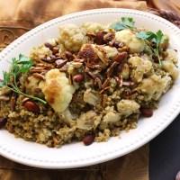 5-Ingredient Arabic Cauliflower Freekeh