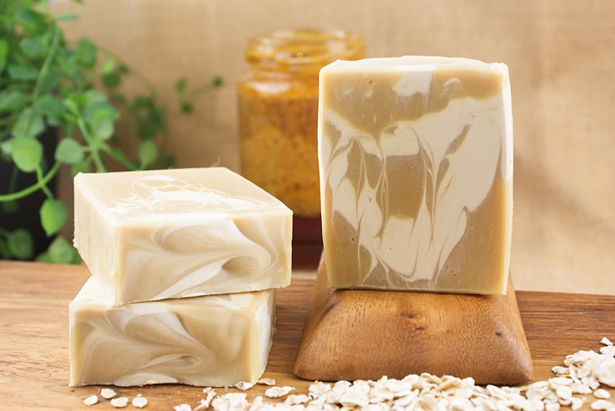 Almond Milk, Oat & Honey Bastille Soap