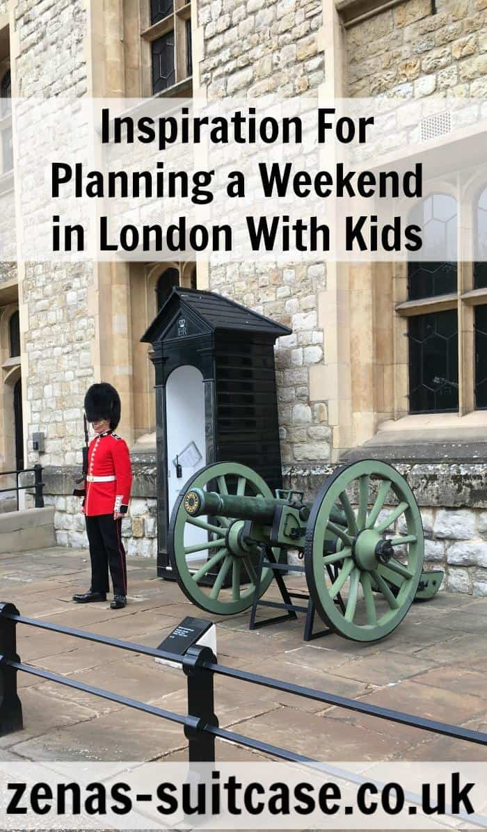 family-on-tube Inspiration For Planning a Weekend in London With Kids #FamilyTravel #UKFTB
