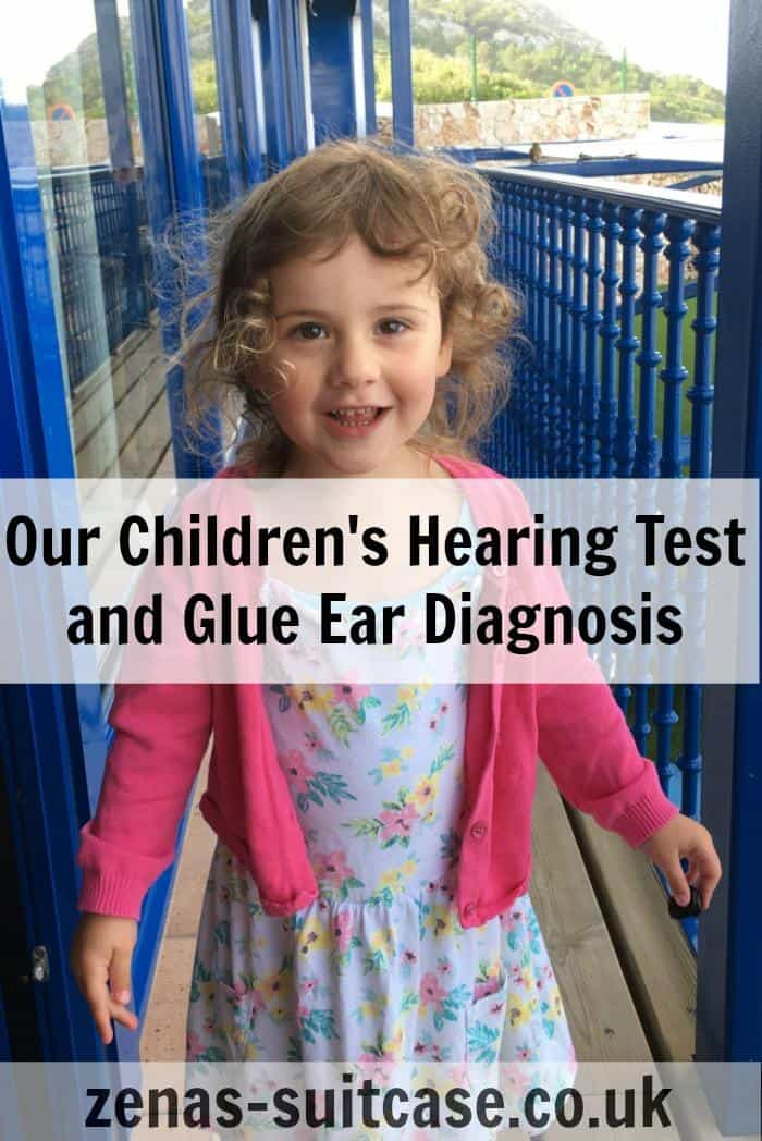 girl-dressed-as-Ana- Our Children's Hearing Test and Glue Ear Diagnosis
