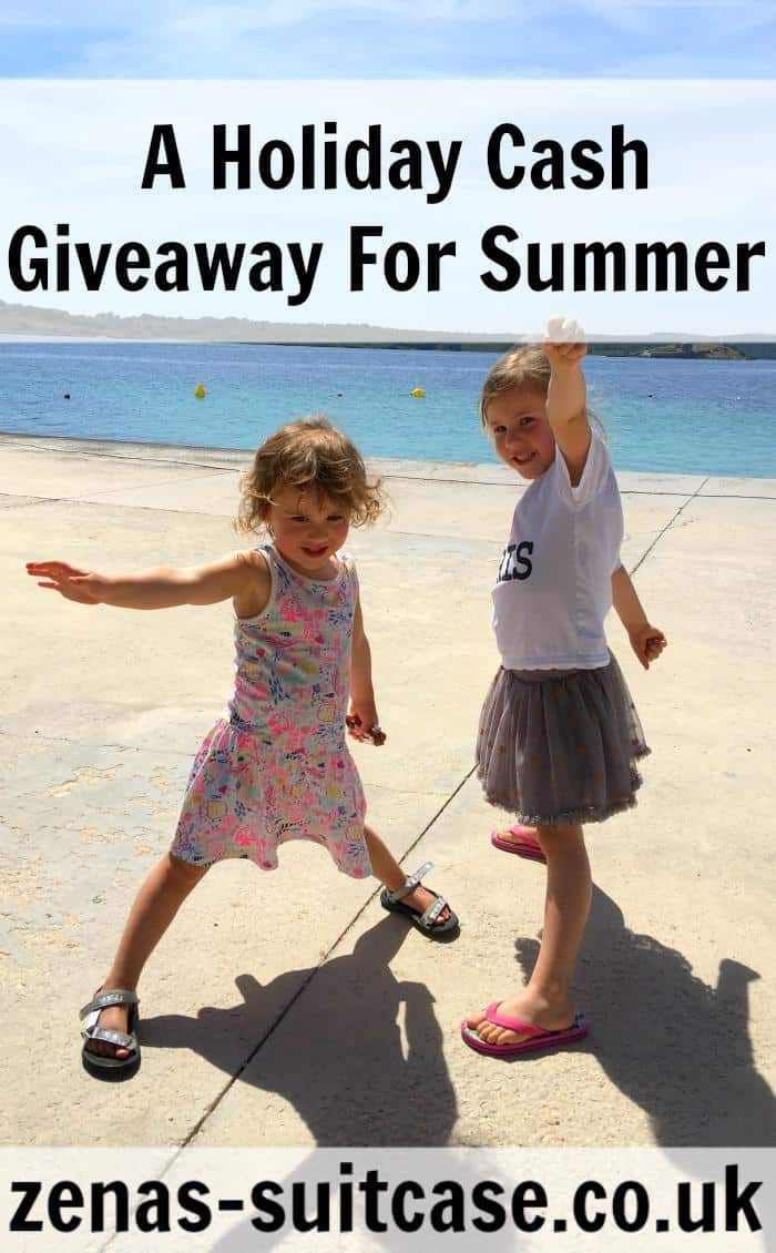 kids-throwing-stones-in-sea- #Win! A Holiday Cash Giveaway For Summer #Competition