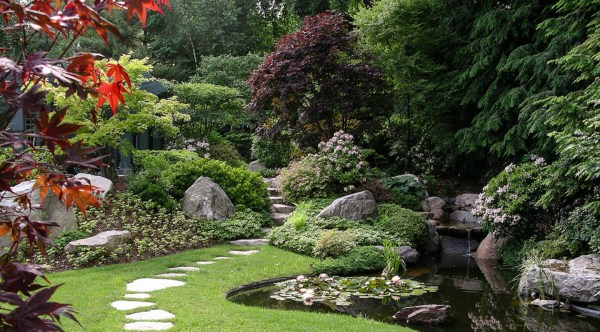 traditional japanese garden design ZEN Associates