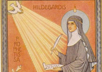 Sv. Hildegarda iz Bingena – svetica za pultom Božje ljekarne , Višnja Bartolović