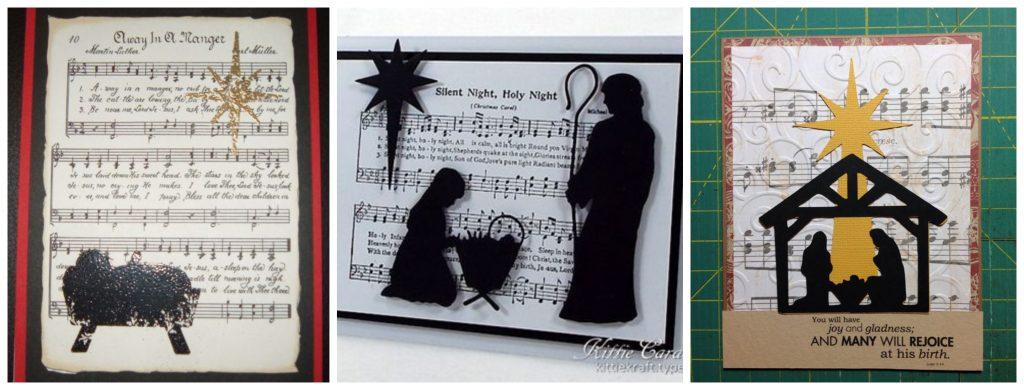 Božićne čestitke, božićna priča, rođenje, katoličke božićne čestitke, note