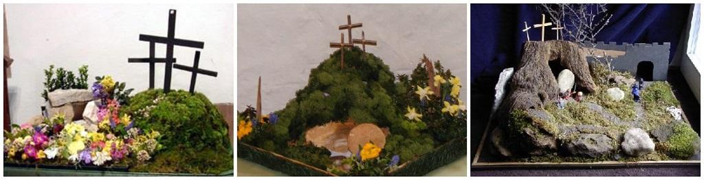 uskršnje dekoracije, uskršnji vrt