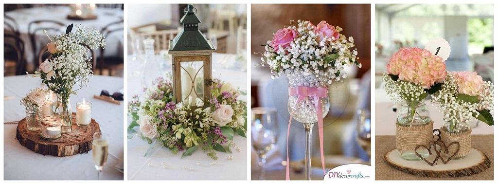 svadba, vjenčanje, ukrašavanje stola