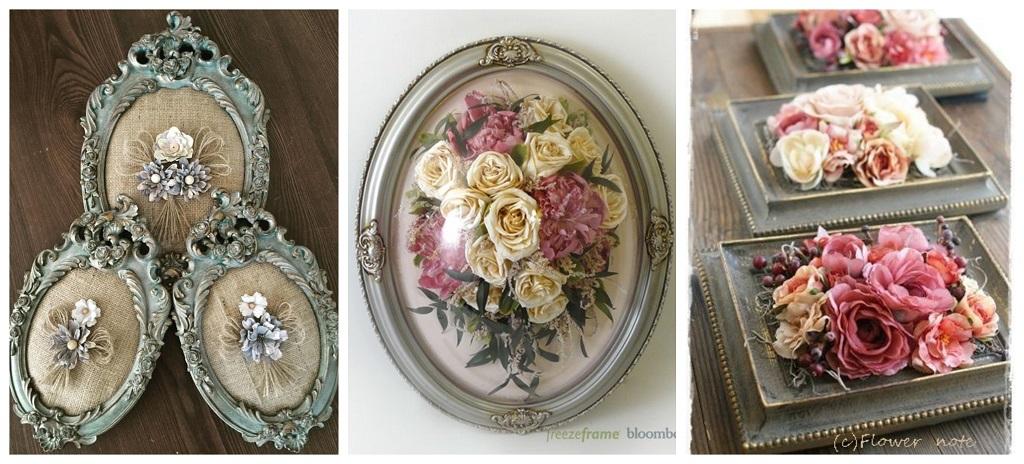 cvijeće u romantičnom okviru