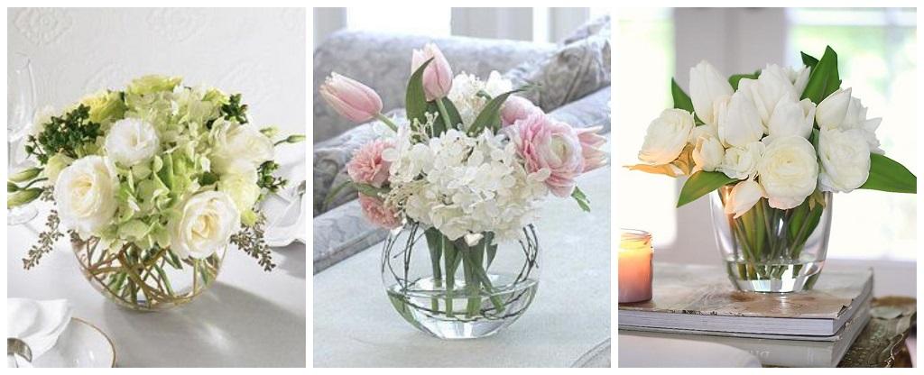 cvijeće u vazi na stolu