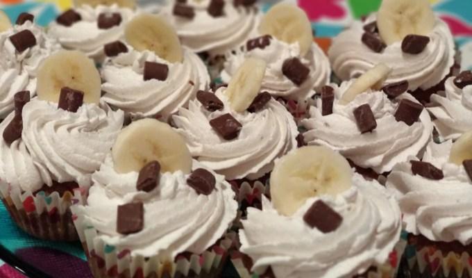 Muffini s bananama i zobi