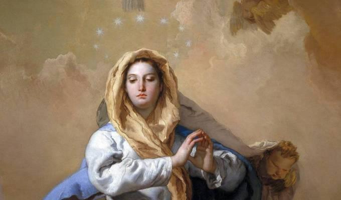 Kraljica bez grijeha istočnoga začeta