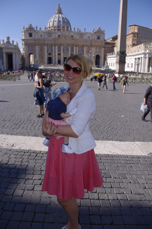 Rome with baby - Vatican