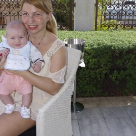 Four Seasons Dubai with baby
