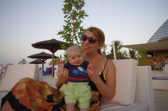 Baby in Dubai: Jumeirah Beach