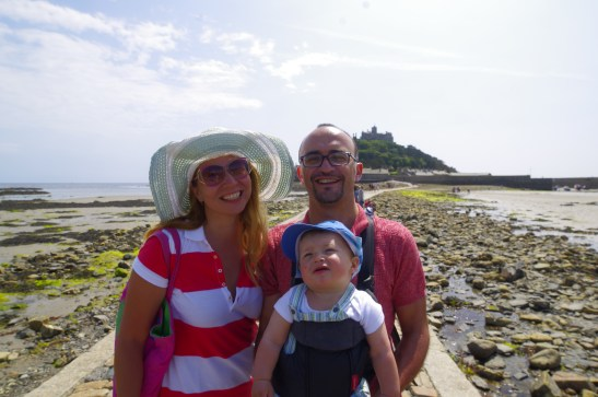 Cornwall with a baby - St Michaels Mountain