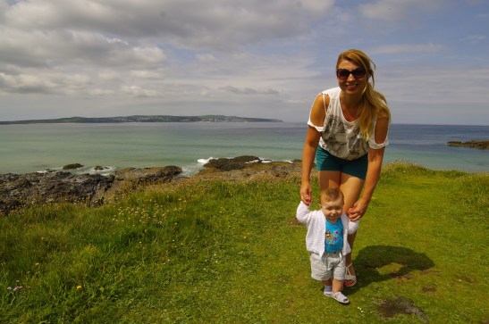 Cornwall with a baby - Godrevy