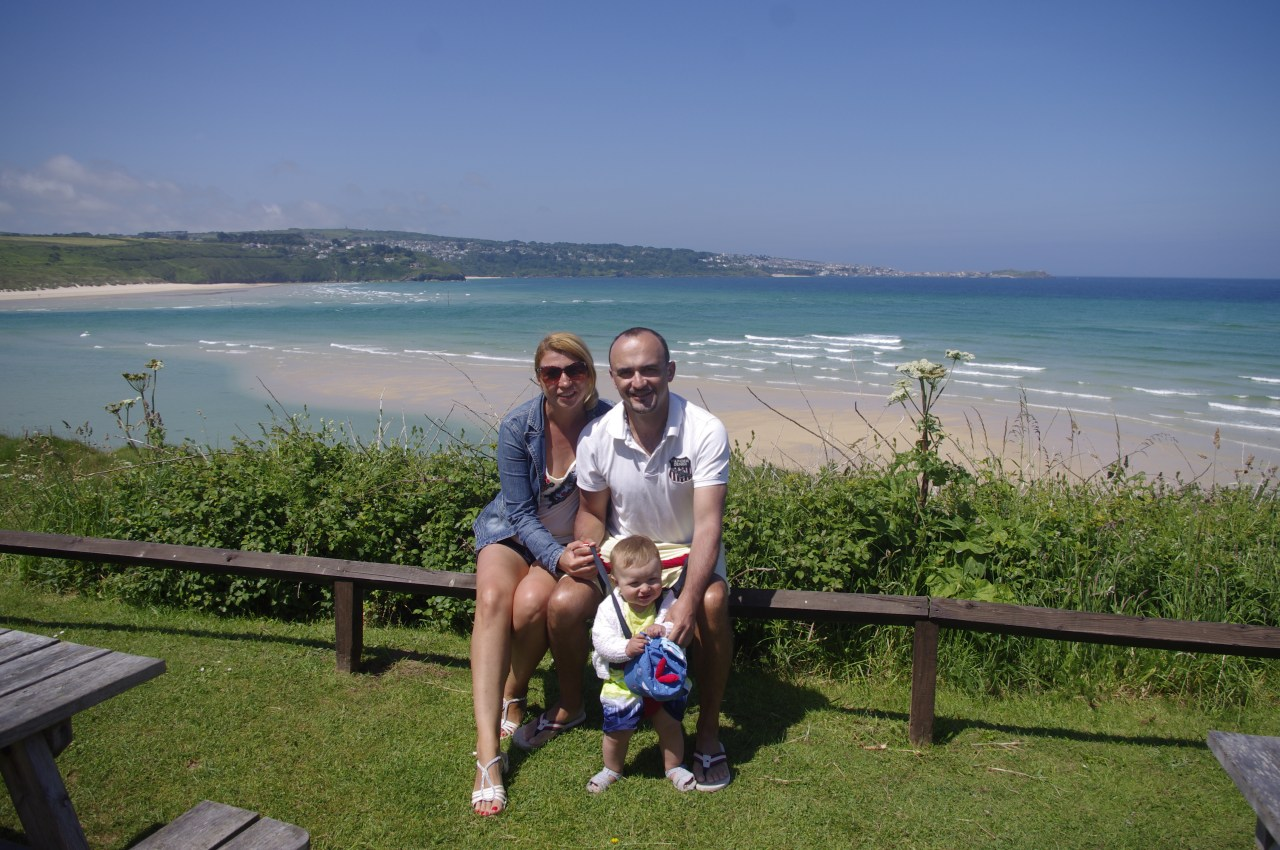 Cornwall with a baby - Hayle