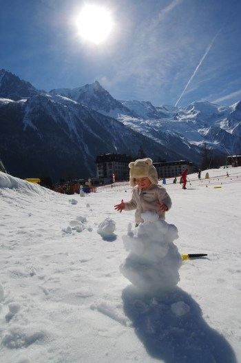 Chamonix with toddler Ski holidays in March