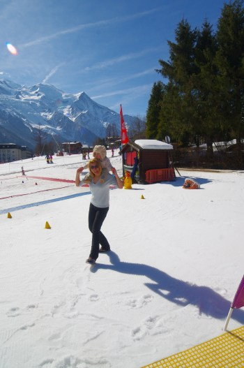 Chamonix with kids - jardin d'hiver Ski holidays in March