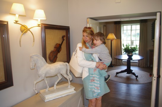 Calcot Manor with kids