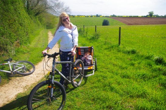 Cotswolds with kids - biking around Calcot Manor